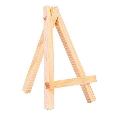 10PCS DIY Small Wooden Crafts Tripod Easel Display OrnamentsCrafts<br>10PCS DIY Small Wooden Crafts Tripod Easel Display Ornaments<br><br>For: Student, Friends, Teachers, Parents, Brothers, Sisters, Lovers<br>Material: Wood<br>Package Contents: 10 x Bracket<br>Package size (L x W x H): 15.00 x 20.00 x 5.00 cm / 5.91 x 7.87 x 1.97 inches<br>Package weight: 0.1700 kg<br>Product size (L x W x H): 12.70 x 7.62 x 1.60 cm / 5 x 3 x 0.63 inches<br>Product weight: 0.0170 kg<br>Subjects: People,Fashion,Others,Animal,Cute,Cartoon,Abstract,Botanical,Landscape<br>Usage: Christmas, Birthday, Wedding, Party, Others, New Year, New Year