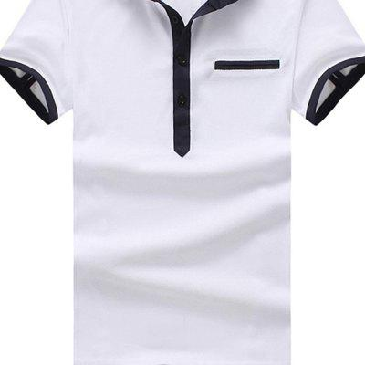 2018 Mens Summer Lapel Short-Sleeve T-ShirtMens Short Sleeve Tees<br>2018 Mens Summer Lapel Short-Sleeve T-Shirt<br><br>Collar: Turn-down Collar<br>Color Style: Solid<br>Fabric Type: Batik<br>Material: Cotton<br>Package Contents: 1xPOLO-shirt<br>Pattern Type: Solid<br>Sleeve Length: Short<br>Style: Casual<br>Type: Regular<br>Weight: 0.3000kg