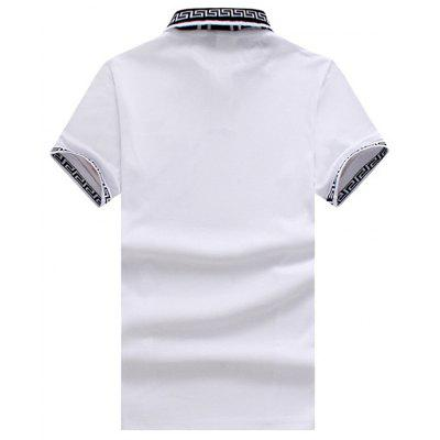New Summer Mens Stitching Embroidery Lapel POLO ShirtMens Short Sleeve Tees<br>New Summer Mens Stitching Embroidery Lapel POLO Shirt<br><br>Collar: Turn-down Collar<br>Color Style: Solid<br>Fabric Type: Batik<br>Material: Cotton<br>Package Contents: 1x POLO-shirt<br>Pattern Type: Solid<br>Sleeve Length: Short<br>Style: Casual<br>Type: Regular<br>Weight: 0.3000kg