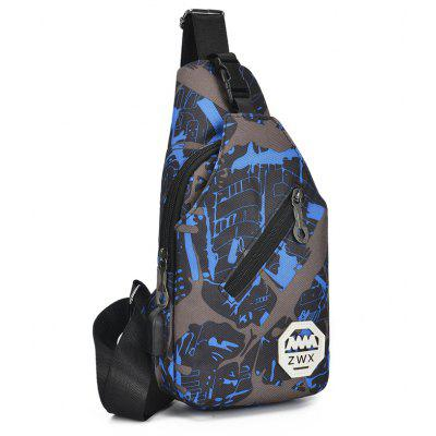 Waterproof Blue Camouflage Men Travel Chest Bag Ladies Shoulder PackCrossbody Bags<br>Waterproof Blue Camouflage Men Travel Chest Bag Ladies Shoulder Pack<br><br>Closure Type: Zipper<br>Gender: For Men<br>Handbag Type: Crossbody bag<br>Hardness: Soft<br>Interior: Zipper Pouch, Interior Compartment, Interior Zipper Pocket, Cell Phone Pocket, Interior Slot Pocket<br>Main Material: Canvas<br>Occasion: Versatile<br>Package Contents: 1 x Bag<br>Package size (L x W x H): 15.50 x 4.00 x 31.50 cm / 6.1 x 1.57 x 12.4 inches<br>Package weight: 0.2100 kg<br>Pattern Type: Others<br>Product size (L x W x H): 15.00 x 7.00 x 31.00 cm / 5.91 x 2.76 x 12.2 inches<br>Product weight: 0.2100 kg<br>Style: Fashion<br>With Pendant: No