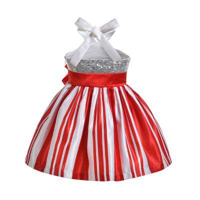 Yoyoxiu CX0105 - 3 Girl Sequined Strapless DressGirls dresses<br>Yoyoxiu CX0105 - 3 Girl Sequined Strapless Dress<br><br>Dresses Length: Knee-Length<br>Embellishment: Backless<br>Material: Cotton, Polyester<br>Neckline: Halter<br>Package Contents: 1 x Dress<br>Pattern Type: Striped<br>Season: Summer<br>Silhouette: A-Line<br>Sleeve Length: Sleeveless<br>Sleeve Type: Spaghetti Strap<br>Style: Fashion<br>Weight: 0.2240kg<br>With Belt: No