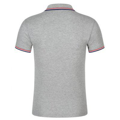Loose Casual Short-sleeved Polo ShirtMens Short Sleeve Tees<br>Loose Casual Short-sleeved Polo Shirt<br><br>Collar: Turn-down Collar<br>Color Style: Solid<br>Fabric Type: Jersey<br>Feature: Breathable<br>Material: Cotton<br>Package Contents: 1 x Polo Shirt<br>Pattern Type: Solid<br>Sleeve Length: Short<br>Style: Casual<br>Type: Loose<br>Weight: 0.1600kg