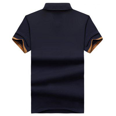 Summer Pure Color Casual Mens Short-Sleeved Polo ShirtsMens Short Sleeve Tees<br>Summer Pure Color Casual Mens Short-Sleeved Polo Shirts<br><br>Collar: Turn-down Collar<br>Color Style: Contrast Color<br>Fabric Type: Corduroy<br>Material: Cotton, Spandex<br>Package Contents: 1 x Polo shirt<br>Pattern Type: Solid<br>Sleeve Length: Short<br>Style: Casual<br>Type: Slim<br>Weight: 0.5000kg