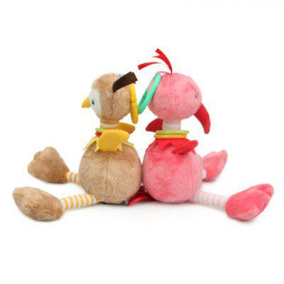 2pcs Baby Rattle Cute  Stroller Wind Chimes Hanging Bell  Toy Doll SoftStuffed Cartoon Toys<br>2pcs Baby Rattle Cute  Stroller Wind Chimes Hanging Bell  Toy Doll Soft<br><br>Features: Cartoon, Stuffed and Plush<br>Materials: Cotton, Plush<br>Package Contents: 2 x Wind Chimes<br>Package size: 32.00 x 8.00 x 6.00 cm / 12.6 x 3.15 x 2.36 inches<br>Package weight: 0.4500 kg<br>Product size: 30.00 x 6.00 x 4.00 cm / 11.81 x 2.36 x 1.57 inches<br>Product weight: 0.4000 kg<br>Series: Reborn Doll<br>Theme: Baby Doll
