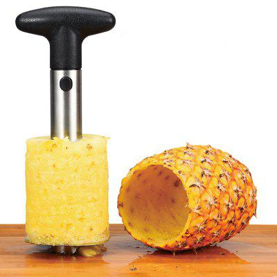 Stainless Steel Fruit Pineapple Cutter Spiral Corer Slicer Peeler Shredder