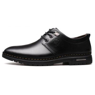 Outdoor Business Formal Wedding Leather Lace Up Men Causal ShoesFormal Shoes<br>Outdoor Business Formal Wedding Leather Lace Up Men Causal Shoes<br><br>Available Size: 38 39 40 41 42 43 44<br>Closure Type: Lace-Up<br>Embellishment: None<br>Gender: For Men<br>Occasion: Casual<br>Outsole Material: Rubber<br>Package Contents: 1 x Shoes(pair)<br>Pattern Type: Solid<br>Season: Summer, Winter, Spring/Fall<br>Toe Shape: Round Toe<br>Toe Style: Closed Toe<br>Upper Material: Genuine Leather<br>Weight: 1.4784kg