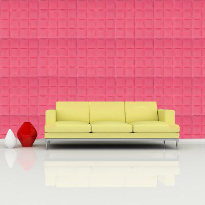 Buy 3D Three-dimensional Modern Simple Wall Stickers, DEEP PINK, 35X35CM, Home & Garden, Home Decors, Wall Art, Wall Stickers for $5.71 in GearBest store