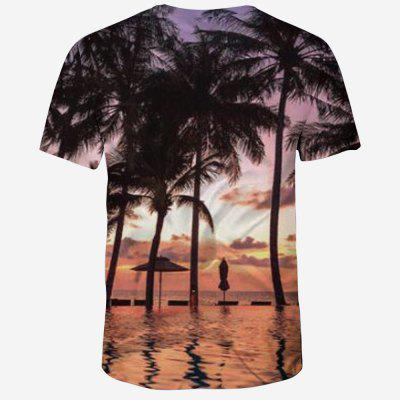 New Fashion 3D Print Summer Mens Short Sleeve T-shirtMens Short Sleeve Tees<br>New Fashion 3D Print Summer Mens Short Sleeve T-shirt<br><br>Collar: Round Neck<br>Material: Polyester, Spandex<br>Package Contents: 1XT-shirt<br>Pattern Type: Plant<br>Sleeve Length: Short Sleeves<br>Style: Fashion<br>Weight: 0.1600kg