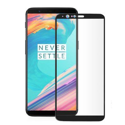Full Screen Protective Film for OnePlus 5T 3D Tempered Glass Protector Shatter-proof Membrane