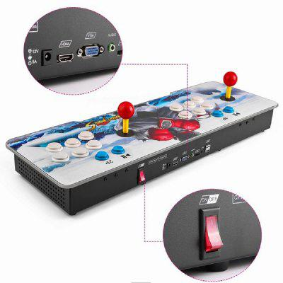 999 in 1 Video Games Arcade Console Machine Double Stick Home Pandoras Key 5sHandheld Games<br>999 in 1 Video Games Arcade Console Machine Double Stick Home Pandoras Key 5s<br><br>Brand: Other<br>Charge way: AC adapter<br>Compatible with: Game Console, Android TV Box, MIMU TV, PC, Tablet PC, TV<br>Language: English,Acrylic,Chinese,Korean,Simplified / TraditionalChinese,Simplified/TraditionalChinese,Korea<br>Operating system: Android<br>Package Contents: 1x Arcade Console , 1x HDMI Cable , 1x USB Cable,  1x VGA Cable  , 1x Power Cable type-A , 1x Power  , 1x English User Manual<br>Package size: 71.00 x 25.00 x 17.00 cm / 27.95 x 9.84 x 6.69 inches<br>Package weight: 5.0000 kg<br>Pre-positioned Games Number: 999<br>Product size: 66.00 x 22.50 x 6.50 cm / 25.98 x 8.86 x 2.56 inches<br>Product weight: 3.2200 kg<br>ROM: 16GB