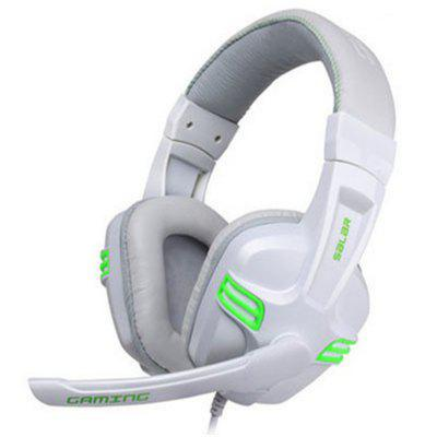 Gaming Headset Over-ear Bass Gaming Headphones PC Headset with Microphone