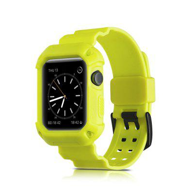 2 and 1 for  iWatch Sports Soft Silica Gel Series Strap 38MM