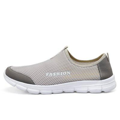 ZEACAVA Couple Model Hollow Breathable Mesh ShoesFlats &amp; Loafers<br>ZEACAVA Couple Model Hollow Breathable Mesh Shoes<br><br>Available Size: 39-47<br>Closure Type: Slip-On<br>Embellishment: Hollow Out<br>Gender: For Men<br>Outsole Material: Rubber<br>Package Contents: 1xShoes(Pair)<br>Pattern Type: Solid<br>Season: Summer, Spring/Fall<br>Toe Shape: Round Toe<br>Toe Style: Closed Toe<br>Upper Material: Cloth<br>Weight: 1.2000kg