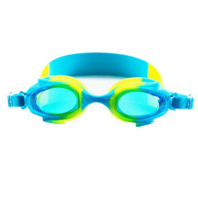 The Children Outdoor Flat Waterproof Swimming Goggles