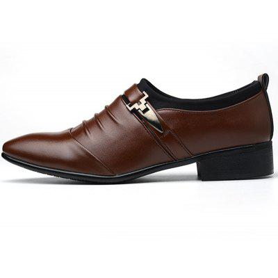 Men New Trend for Fashion Outdoor Walking Black Leather Business ShoesFormal Shoes<br>Men New Trend for Fashion Outdoor Walking Black Leather Business Shoes<br><br>Available Size: 38-48<br>Closure Type: Elastic band<br>Embellishment: Sequined<br>Gender: For Men<br>Occasion: Dress<br>Outsole Material: Rubber<br>Package Contents: 1 x Pair of Shoes<br>Pattern Type: Solid<br>Season: Summer, Winter, Spring/Fall<br>Toe Shape: Pointed Toe<br>Toe Style: Closed Toe<br>Upper Material: PU<br>Weight: 2.1000kg