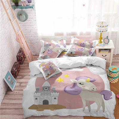 3D Series Cartoon Animation Unicorn Rainbow Bedding Set AS49Bedding Sets<br>3D Series Cartoon Animation Unicorn Rainbow Bedding Set AS49<br><br>Category: Bedding Set<br>For: All<br>Functions: Multi-functions<br>Material: Cotton, Polyester<br>Occasion: Bedroom, School<br>Package Contents: 1 x Duver Cover,2 x Pillowcase,1 x Bed Sheet or 1 x Duver Cover,2 x Pillowcase,<br>Package size (L x W x H): 28.00 x 26.00 x 5.00 cm / 11.02 x 10.24 x 1.97 inches<br>Package weight: 1.9500 kg<br>Product size (L x W x H): 28.00 x 26.00 x 5.00 cm / 11.02 x 10.24 x 1.97 inches<br>Product weight: 1.9300 kg<br>Type: Novelty, Leisure, Comfortable, Decoration, Fashion