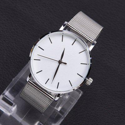 ZhouLianFa Stylish Steel Mesh Quartz WatchMens Watches<br>ZhouLianFa Stylish Steel Mesh Quartz Watch<br><br>Band material: Stainless Steel<br>Band size: 23 x 2cm<br>Case material: Alloy<br>Clasp type: Pin buckle<br>Dial size: 3.9 x 3.9 x 0.9cm<br>Display type: Analog<br>Movement type: Quartz watch<br>Package Contents: 1 x Watch, 1 x Box<br>Package size (L x W x H): 9.00 x 8.00 x 5.50 cm / 3.54 x 3.15 x 2.17 inches<br>Package weight: 0.0850 kg<br>People: Male table,Female table,Unisex table<br>Product size (L x W x H): 23.00 x 3.90 x 0.90 cm / 9.06 x 1.54 x 0.35 inches<br>Product weight: 0.0550 kg<br>Shape of the dial: Round<br>Watch style: Casual, Fashion, Classic, Business