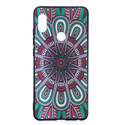 TPU Relief-hoesje voor Xiaomi 6X / Redmi notities 5 Pro Mandala-patroon