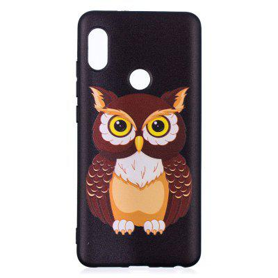 TPU Relief Case for Xiaomi 6X / Redmi Note 5 Pro Owl Pattern