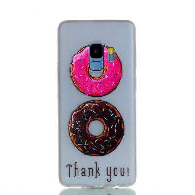 Luminous Soft Case for Samsung Galaxy S9 Donuts Pattern