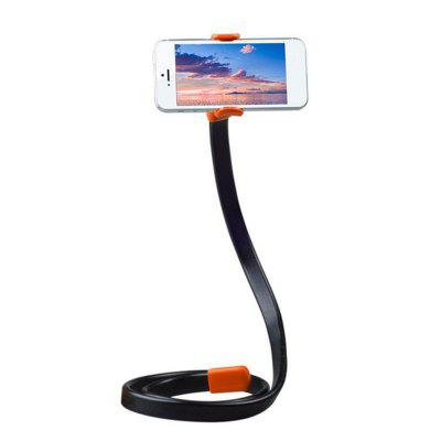 Lazy Mobile Phone Clip Flexible Phone Bracket 360 Rotating Bed Desk Table Clip brilink st02 360 degrees rotation desk bed handsfree flexible neck clip holder for phone black