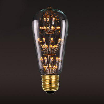 BRELONG ST64 E27 3W 47LED Retro Edison Light Bulb 220 -240V