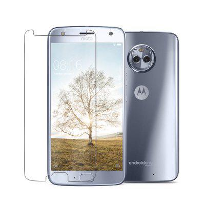 2PCS Screen Protector for Moto X4 High Sensitivity Clear Premium Tempered Glass