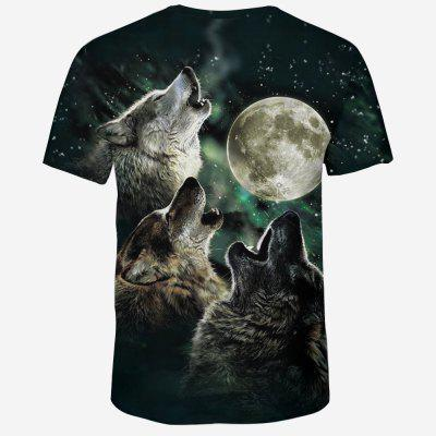 Summer Fashion 3D Wolf Print Mens Round Neck Short Sleeve T-shirtMens Short Sleeve Tees<br>Summer Fashion 3D Wolf Print Mens Round Neck Short Sleeve T-shirt<br><br>Collar: Round Neck<br>Fabric Type: Broadcloth<br>Material: Polyester, Spandex<br>Package Contents: 1xT-Shirt<br>Pattern Type: Character<br>Sleeve Length: Short Sleeves<br>Style: Fashion<br>Weight: 0.2200kg