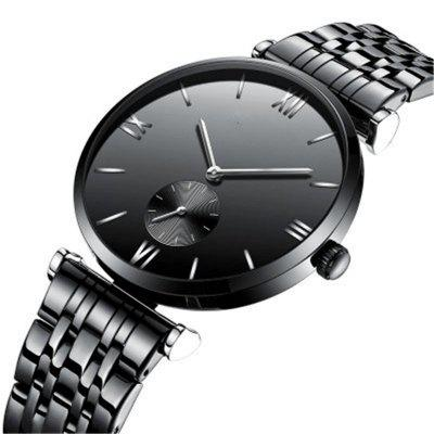 Simple Calendar Stainless Steel Band Waterproof Quartz Men WatchMens Watches<br>Simple Calendar Stainless Steel Band Waterproof Quartz Men Watch<br><br>Band material: Stainless Steel<br>Case material: Stainless Steel<br>Clasp type: Butterfly clasp<br>Movement type: Quartz watch<br>Package Contents: 1 x Watch<br>Package size (L x W x H): 28.00 x 6.00 x 3.30 cm / 11.02 x 2.36 x 1.3 inches<br>Package weight: 0.4500 kg<br>Product size (L x W x H): 26.00 x 4.00 x 1.30 cm / 10.24 x 1.57 x 0.51 inches<br>Product weight: 0.4000 kg<br>Shape of the dial: Round<br>Watch style: Business, Casual<br>Watches categories: Men