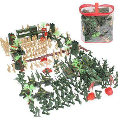 World War II Sand Table Plastic Model Educational Toys Suit 188PCS