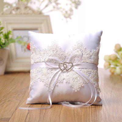 The New Double Heart Lace PillowHome Gadgets<br>The New Double Heart Lace Pillow<br><br>Available Color: White<br>Materials: Cloth<br>Package Contents: 1 x Pillows<br>Package Size(L x W x H): 16.00 x 16.00 x 2.50 cm / 6.3 x 6.3 x 0.98 inches<br>Package weight: 0.0590 kg<br>Product weight: 0.0580 kg