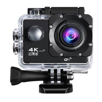 4K WiFi  2.4G Ultra HD Waterproof with Remote Control Sport Camera EU