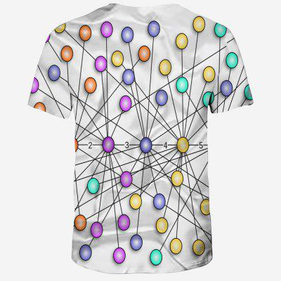 2018 Mens 3D Printing Short Sleeve T-shirtMens Short Sleeve Tees<br>2018 Mens 3D Printing Short Sleeve T-shirt<br><br>Collar: Round Neck<br>Material: Polyester, Spandex<br>Package Contents: 1XT-Shirt<br>Pattern Type: Geometric<br>Sleeve Length: Short Sleeves<br>Style: Fashion<br>Weight: 0.1600kg