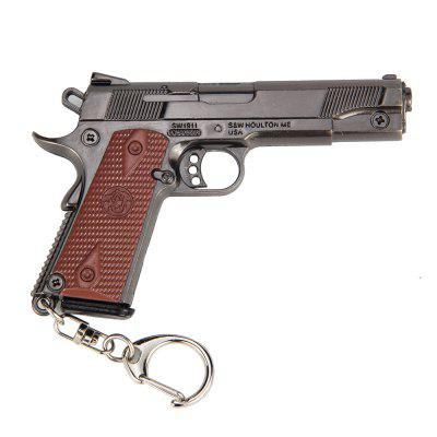 9.5CM P1911 Pistol Keychain Model ToyKey Chains<br>9.5CM P1911 Pistol Keychain Model Toy<br><br>Design Style: Other<br>Gender: Unisex<br>Materials: Zinc Alloy<br>Package Contents: 1 x P1911 Pistol Key Chain Model, 1 x Leather Case<br>Package size: 21.00 x 7.20 x 2.20 cm / 8.27 x 2.83 x 0.87 inches<br>Package weight: 0.1350 kg<br>Product size: 9.50 x 6.00 x 1.10 cm / 3.74 x 2.36 x 0.43 inches<br>Product weight: 0.1150 kg<br>Stem From: Europe and America<br>Theme: Other