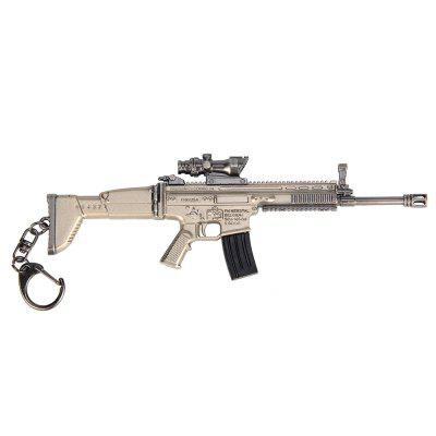 16.5CM SCAR-L Assault Rifle Alloy Keychain Model ToyKey Chains<br>16.5CM SCAR-L Assault Rifle Alloy Keychain Model Toy<br><br>Design Style: Other<br>Gender: Unisex<br>Materials: Zinc Alloy<br>Package Contents: 1 x SCAR-L Assault Rifle<br>Package size: 21.00 x 7.20 x 1.60 cm / 8.27 x 2.83 x 0.63 inches<br>Package weight: 0.1330 kg<br>Product size: 16.50 x 5.50 x 0.90 cm / 6.5 x 2.17 x 0.35 inches<br>Product weight: 0.1150 kg<br>Stem From: Europe and America<br>Theme: Other