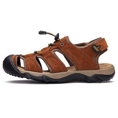 Men Casual Shoes Slippers SandalsMens Sandals<br>Men Casual Shoes Slippers Sandals<br><br>Available Size: 38-45<br>Closure Type: Lace-Up<br>Embellishment: Metal<br>Gender: For Men<br>Heel Hight: 1.8cm<br>Occasion: Casual<br>Outsole Material: Rubber<br>Package Contents: 1xShoes(pair)<br>Pattern Type: Solid<br>Sandals Style: Slides<br>Style: Mature<br>Upper Material: Leather<br>Weight: 1.2000kg