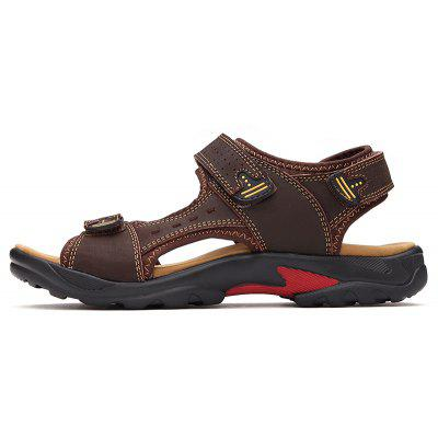 Men Casual Shoes Slippers Leather SandalsMens Sandals<br>Men Casual Shoes Slippers Leather Sandals<br><br>Available Size: 38-48<br>Closure Type: Lace-Up<br>Embellishment: None<br>Gender: For Men<br>Heel Hight: 1.8cm<br>Occasion: Casual<br>Outsole Material: Rubber<br>Package Contents: 1xShoes(pair)<br>Pattern Type: Solid<br>Sandals Style: Slides<br>Style: Mature<br>Upper Material: Leather<br>Weight: 1.2000kg