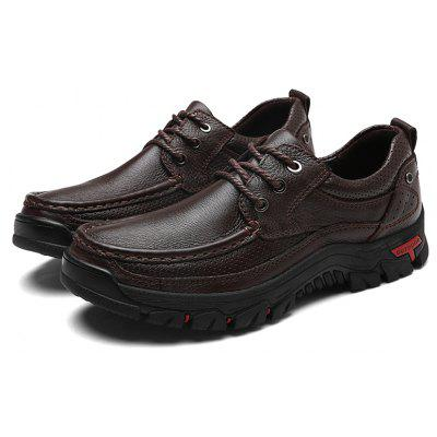 Men Casual Shoes Leather Business ShoesMen's Oxford<br>Men Casual Shoes Leather Business Shoes<br><br>Available Size: 38-44<br>Closure Type: Lace-Up<br>Embellishment: None<br>Gender: For Men<br>Occasion: Casual<br>Outsole Material: Rubber<br>Package Contents: 1xShoes(pair)<br>Pattern Type: Solid<br>Season: Spring/Fall<br>Toe Shape: Round Toe<br>Toe Style: Closed Toe<br>Upper Material: Leather<br>Weight: 1.2000kg