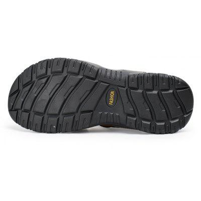 Sandals Leather Beach Casual Shoes Slippers Flip Flops Summer FlatsSneakersMens Sandals<br>Sandals Leather Beach Casual Shoes Slippers Flip Flops Summer FlatsSneakers<br><br>Available Size: 38-45<br>Closure Type: Lace-Up<br>Feature: Breathable<br>Gender: For Men<br>Outsole Material: Rubber<br>Package Contents: 1?Shoes(pair)<br>Package Size(L x W x H): 30.00 x 20.00 x 10.00 cm / 11.81 x 7.87 x 3.94 inches<br>Package weight: 0.5000 kg<br>Pattern Type: Others<br>Product weight: 0.4000 kg<br>Season: Spring/Fall<br>Shoe Width: Medium(B/M)<br>Upper Material: Leather