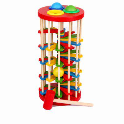 Wooden Children Toy Rolling Ball LadderOther Educational Toys<br>Wooden Children Toy Rolling Ball Ladder<br><br>Age: All Ages<br>Applicable gender: Unisex<br>Design Style: Construction<br>Features: Educational<br>Gender: Unisex<br>Material: Wood<br>Package Contents: 1 x Ball Toy<br>Package size (L x W x H): 14.00 x 14.00 x 30.00 cm / 5.51 x 5.51 x 11.81 inches<br>Package weight: 0.7000 kg<br>Product size (L x W x H): 12.00 x 12.00 x 25.00 cm / 4.72 x 4.72 x 9.84 inches<br>Product weight: 0.6000 kg<br>Small Parts: Yes<br>Type: Intelligence toys<br>Washing: Yes