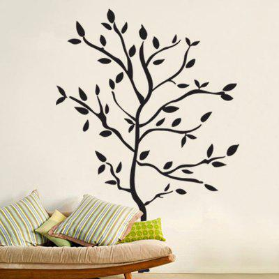 3D Three-Dimensional Wall Stickers Creative Decoration New TreesWall Stickers<br>3D Three-Dimensional Wall Stickers Creative Decoration New Trees<br><br>Art Style: Plane Wall Stickers<br>Color Scheme: Black<br>Functions: Decorative Wall Stickers<br>Layout Size (L x W): 70 x 50cm<br>Material: Vinyl(PVC)<br>Package Contents: 1 x Wall Stickers<br>Package size (L x W x H): 52.00 x 2.00 x 2.00 cm / 20.47 x 0.79 x 0.79 inches<br>Package weight: 0.1100 kg<br>Product size (L x W x H): 70.00 x 50.00 x 1.00 cm / 27.56 x 19.69 x 0.39 inches<br>Product weight: 0.1000 kg<br>Subjects: Botanical