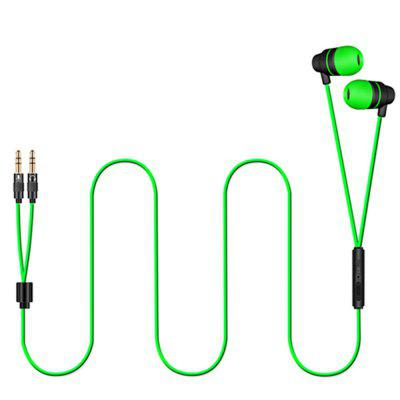 New High-end In-ear Headphones with Mic for Cellphone