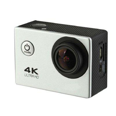 4K 2.0 LCD WiFi Ultra HD Waterproof  Action Sport CameraAction Cameras<br>4K 2.0 LCD WiFi Ultra HD Waterproof  Action Sport Camera<br><br>Aerial Photography: Yes<br>Anti-shake: Yes<br>Application: Motorcycle, Ski, Bike, Extreme Sports, Underwater, Aerial Photography<br>Audio System: Built-in microphone/speaker (AAC)<br>Auto-Power On: Yes<br>Battery Capacity (mAh): 1050mAh<br>Battery Type: Removable<br>Camera Pixel: 16M<br>Camera Timer: Yes<br>Charge way: AC adapter,USB charge by PC,Car charger<br>Charging Time: 3h<br>Decode Format: H.264<br>Delay Shutdown: Yes<br>Exposure Compensation: Auto<br>Features: Wireless<br>FPV Output: Yes<br>Frequency: 60Hz<br>Function: WiFi, Time Lapse, Waterproof, Loop-cycle Recording, Remote Control<br>HDMI Output: Yes<br>Image Format: JPEG<br>Image resolutions: 3264 x 2448 (8MP), 4608 x 3456(16MP)<br>Interface Type: Micro USB, Micro HDMI<br>ISO: Auto<br>Language: English,French,Portuguese,Italian,Simplified Chinese,Traditional Chinese,Japanese<br>Loop-cycle Recording: Yes<br>Loop-cycle Recording Time: OFF,1min,2min,5min<br>Max External Card Supported: TF 32G (not included)<br>Microphone: Built-in<br>Motion Detection: Yes<br>Package Contents: 1 x Camera, 1 x Case, 1 x Battery, 3 x Mount, 1 x Frame, 1 x J-hook, 3 x Connector, 1 x Adapter,  2 x Tether, 4 x Bandage, 1 x Backdoor, 2 x Adhesive, 1 x  Manual, 1 x Cloth<br>Package size (L x W x H): 22.50 x 15.50 x 6.00 cm / 8.86 x 6.1 x 2.36 inches<br>Package weight: 0.4460 kg<br>Product size (L x W x H): 5.80 x 4.00 x 2.50 cm / 2.28 x 1.57 x 0.98 inches<br>Product weight: 0.0550 kg<br>Remote Control: Yes<br>Scene: Sport<br>Screen: With Screen<br>Screen resolution: 640x480<br>Screen size: 2.0inch<br>Screen type: TFT<br>Sensor: CMOS<br>Standby time: 900 minutes<br>System requirements: Windows 2000 / XP / Vista<br>Time lapse: Yes<br>Time Stamp: Yes<br>Type: Sports Camera, FPV Action Camera<br>Type of Camera: 4K<br>USB Function: PC-Camera, USB-Disk<br>Video format: AVI<br>Video Frame Rate: 30FPS<b