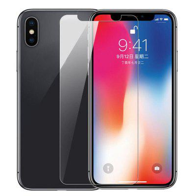 For iPhone X Real Tempered Glass Film Screen Protector Compact Mobile Phone