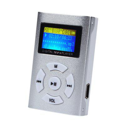 Portable USB Mini MP3 Player LCD Screen Support Micro SD TF Card