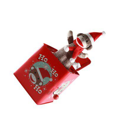 Novelty Bouncing Monkey Jack in the Box Music ToyNovelty Toys<br>Novelty Bouncing Monkey Jack in the Box Music Toy<br><br>Features: Musical, Creative Toy<br>Materials: Metal<br>Package Contents: 1 x Music Box<br>Package size: 15.00 x 15.00 x 16.00 cm / 5.91 x 5.91 x 6.3 inches<br>Package weight: 0.4000 kg<br>Product size: 13.50 x 13.50 x 14.00 cm / 5.31 x 5.31 x 5.51 inches<br>Product weight: 0.3500 kg<br>Series: Fantasy<br>Theme: Music,Trick