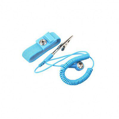 Anti-Static Wrist Strap Components - BlueTool Kit<br>Anti-Static Wrist Strap Components - Blue<br><br>Application: Hardware Tool<br>Package Contents: 1 x Wired Adjustable Wrist Strap<br>Package size (L x W x H): 13.50 x 8.50 x 2.00 cm / 5.31 x 3.35 x 0.79 inches<br>Package weight: 0.0290 kg<br>Product size (L x W x H): 13.50 x 8.50 x 1.50 cm / 5.31 x 3.35 x 0.59 inches<br>Product weight: 0.0215 kg