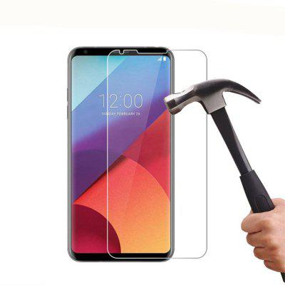 2PCS Screen Protector for LG V30 High Sensitivity Clear Premium Tempered Glass protective 9h tempered glass full screen guard protector back sticker for iphone 6 golden