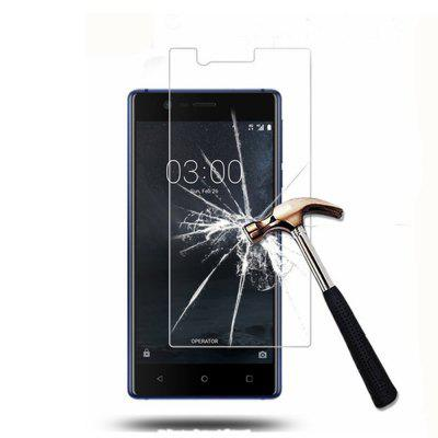 2PCS Screen Protector for Nokia 3 High Sensitivity Clear Premium Tempered Glass protective 9h tempered glass full screen guard protector back sticker for iphone 6 golden