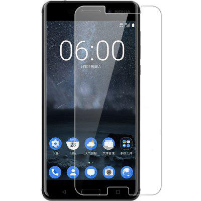 2PCS Screen Protector for Nokia 6 High Sensitivity Clear Premium Tempered Glass ultra thin 0 26mm tempered glass screen protector back protector sticker for iphone 6